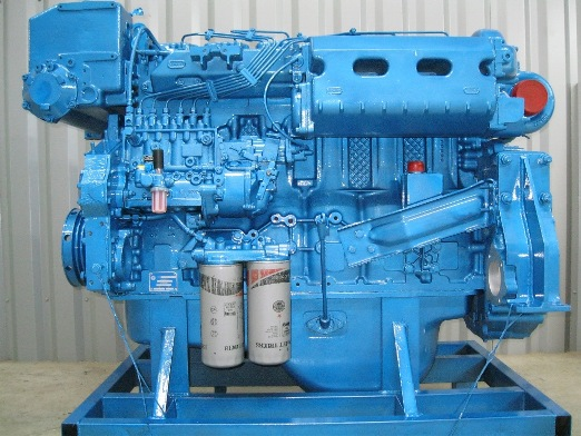 Graffeuille has several refurbished Engines for Marine use