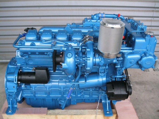 Graffeuille has several refurbished Engines for Marine use in Stock