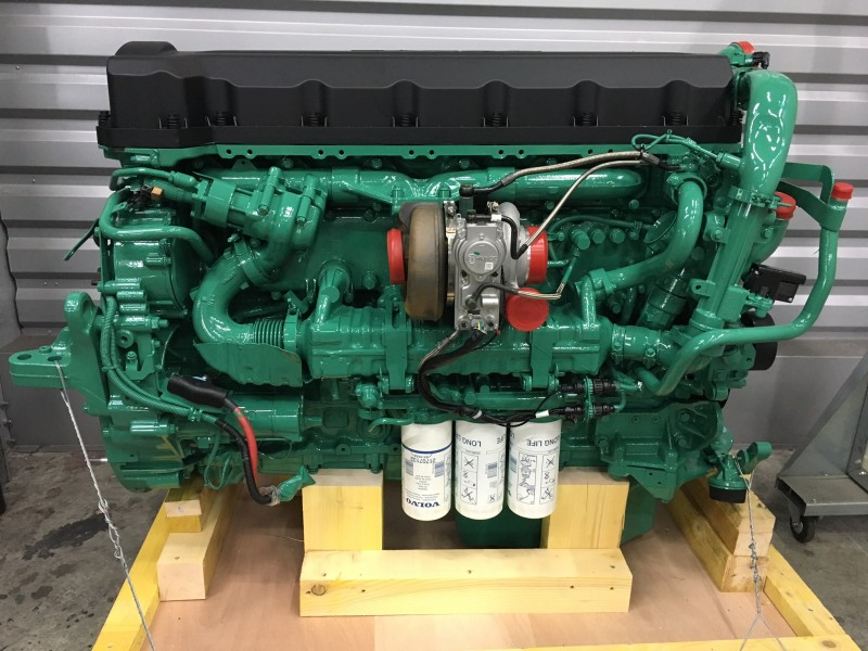 truck engine replacement reconditioning  repair volvo truck engine graffeuille